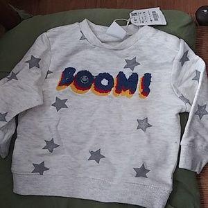 Zara baby boy sweatshirt nwt